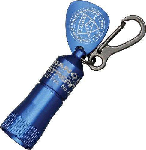 Streamlight Nano light Miniatur Schlüsselanhänger LED Taschenlampe, blau, 73002