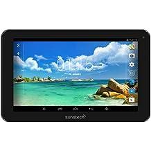 """Sunstech TAB92QC8GBBK - Tablet de 9"""" (WiFi, Quad Core AllWinner A33, 8 GB de almacenamiento, USB, SD) color negro"""