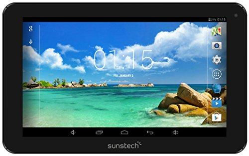 Sunstech TAB92QC8GBBK - Tablet de 9' (WiFi, Quad Core AllWinner A33, 8 GB de almacenamiento, USB, SD) color negro