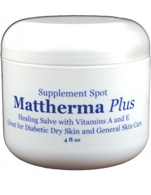 Supplementspot Mattherma Plus Healing Salve with Vitamins A And E, Great For Dry Skin And General Skin Care