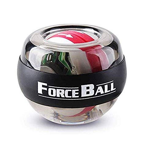 Khosd Power Ball Entrenador De Muñeca LED Gyroball Essential Spinner Gyroscopic Forearm Ejercitador...