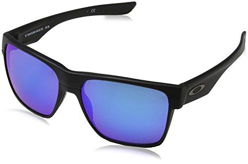 Oakley Herren Twoface XL 935005 59 Sonnenbrille, Schwarz (Matte Black/Sapphireiridiumpolarized),