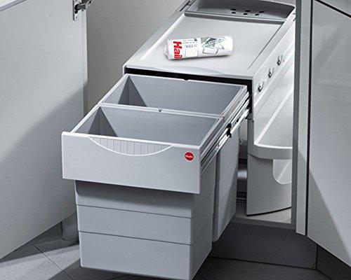 Hailo Rondo Comfort 3645-22 Eckabfallsammler 90.2/40 P Abfalleimer Müllbeutel