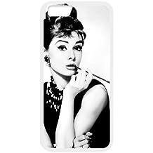 iPhone 6 4.7 Inch Phone Case White Audrey Hepburn GJ2547644