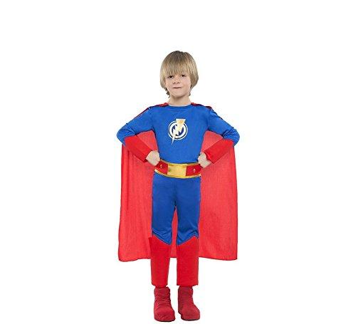 Superheroe Kostüm - Zzcostumes SUPERHEROE Kostüm Grösse 7-9 Jahre GRÖßE Kinder