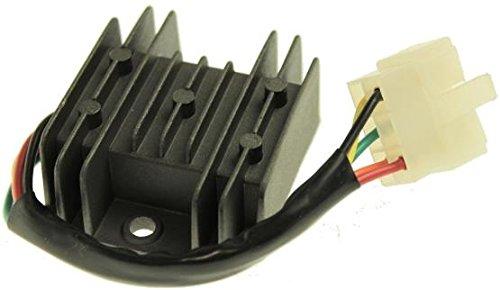 Spannungsregler, Gleichrichter 12 V 10A, Kymco Super 8 50, Malaguti Ciak125/150