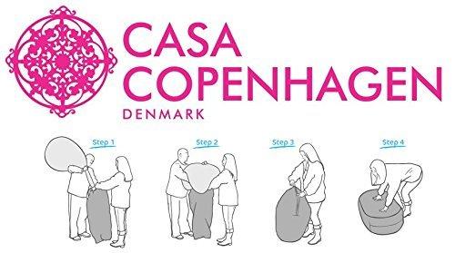 Casa Copenhagen 1 Kg Premium A-Grade Bean Bag Refill/Filler