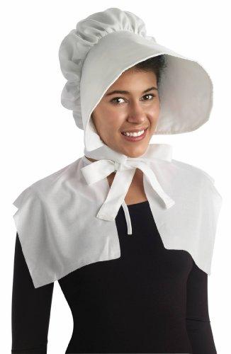 Forum Novelties, Inc Girls Pioneer Bonnet Standard