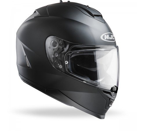 HJC - Casque moto - HJC IS-17 Noir Mat - M
