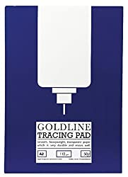 A2 Goldline Tracing Paper Pad 50 Sheets (112gsm)