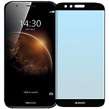 Cristal Templado Protector de Pantalla Para Huawei G8 (GX8) (Black)- NEVEQ® Vidrio Templado, el Huawei G8 GX8 Full Screen Black (5.5) Pulgadas piel Protectora de la Cubierta.