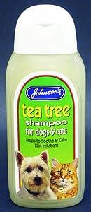 Johnsons Tea Tree Shampoo 200ml from Johnson's Veterinary Products