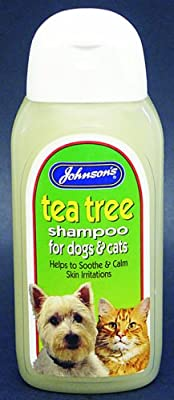 Johnsons Tea Tree Soothing Shampoo for Dogs 200ml from JVP