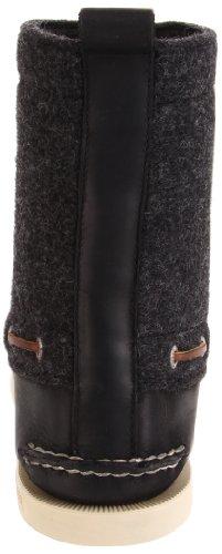 Sperry A/O 7 Eye Boot, Mocassins homme Noir/gris (Black/Grey)