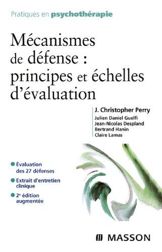 Mcanismes de dfense : principes et chelles d'valuation