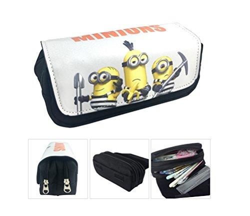 Estuche Escolar La caja de lápiz para la escuela dos compartimentos Minions Gru: Mi villano favorito 3 Prisoners