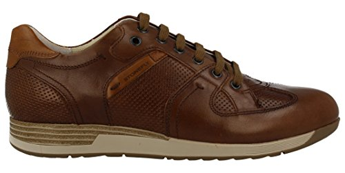 Stonefly London 1, Sneakers Basses Homme Marron (Cigar 322)
