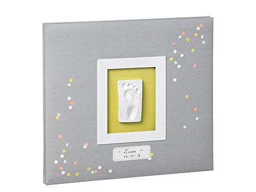 Baby Art - 34120118 - My Creative Photo Album - Album foto personalizzabile con calco della manina o del piedino del bebè