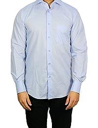Muga chemise manches longues, Bleu clair