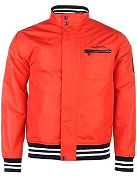 Pierre Cardin Windbreaker chaqueta para hombre rojo chaquetas abrigos Outerwear, rojo, large
