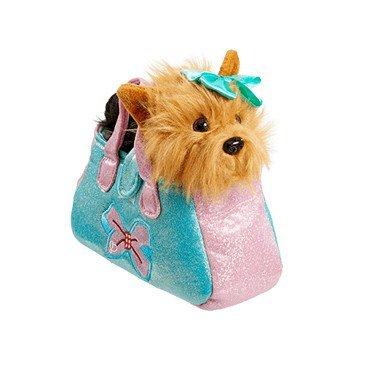 JoJo Siwa – Carry Me Bow Bow – entzückender Plüsch-Hund in eigener Handtasche – Rosa (Bow Handtasche Rosa)