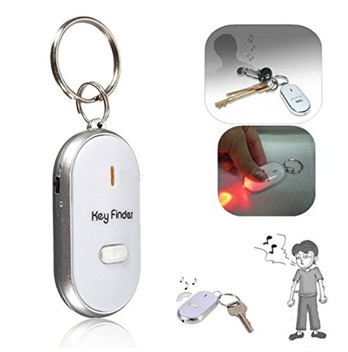 Best-Deals-Whistle-Key-Finder-Keychain-Sound-Led-With-Whistle-Claps-One-Piece-Random-Color-Will-Be-Shipped