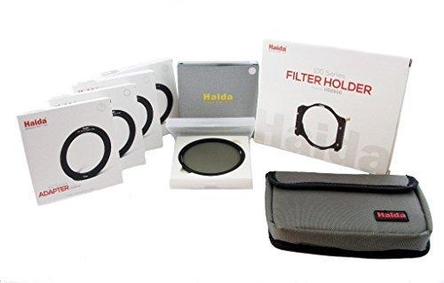 Haida Pro II Digital Slim Polfilter Zirkular MC (multicoating) - 100er Serie Einschubfilter, inkl. Halter und Anschlussadapter in 52mm, 55mm, 58mm,