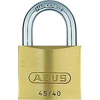 ABUS Messing-Vorhangschloss 45/40 mit 5 Schlüsseln, 20075