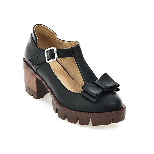 BalaMasaApl10224 - Scarpe con plateau donna Black