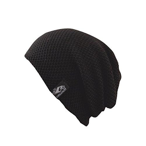 CHILLOUTS Erwachsene Mütze Osaka Hat, Black, One Size, 4438