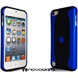 Novo iPod Touch 5 5G Hard Case Flux Blue Blau und Black Schwarz Hülle Taschen