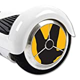 MightySkins Protective Vinyl Skin Decal for Hover Balance Board Scooter Wheels mini board unicycle bluetooth wrap cover sticker Salute Me