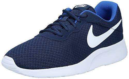 Nike Tanjun, Zapatillas de Running para Hombre, Azul Midnight Navy/White-Game Royal, 45 EU