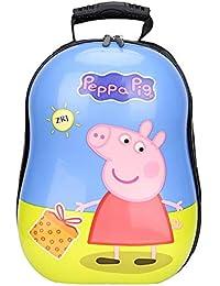 JUNMAONO Peppa Pig Coche Minions Frozen Bolsa Escolares Mochila Escolar Saco Doble Hombro Moral Petate Bolsas