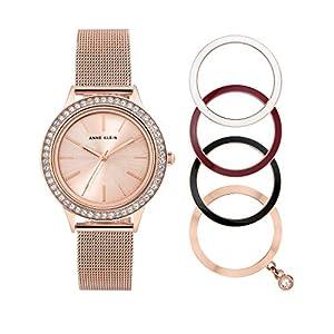 Anne Klein AK/3166INST – Reloj analógico de cuarzo para mujer con