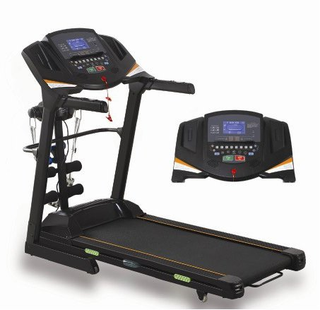 Cardioworld - Motorised Treadmill (5 HP/150 KG User/Double Frame) Cardioworld 4000