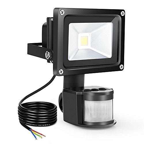 Motiviert 20w Hochwertiger Smd Außen Led Flutlicht 6000k Tageslicht Ip65 Black Wasserfest Perfekte Verarbeitung Beleuchtung Garten & Terrasse
