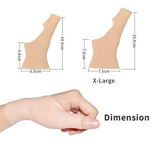 Karpaltunnel-taubheit (Stützhülsen Brace Handgelenk verhindern Schmerzen und Taubheit am Handgelenk und Daumen-Gelenke, Hände befreien, Ausübung oder lange Zeit Computer arbeiten, Handgelenk Protektor für Männer und Frauen)