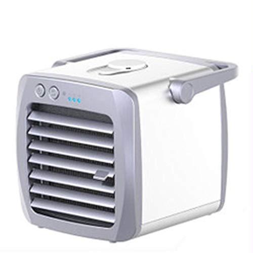 NBWE Cooling Fan Tragbare klimaanlage Mini lüfter klimaanlage lüfter tragbare nachtlicht reinigungsluft nanomaterial filterkühlung cool (Pet-cool Klimaanlage)
