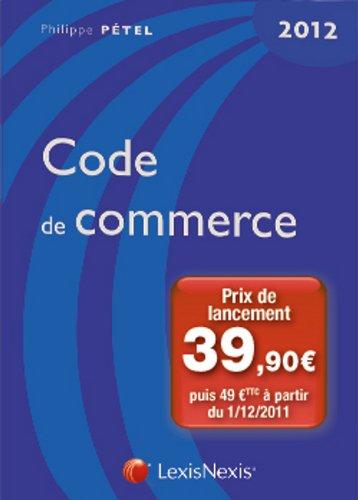 Code de commerce 2012