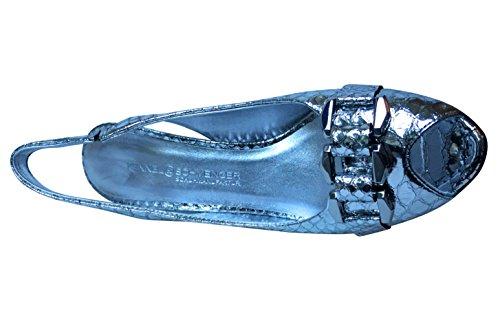 Kennel & Schmenger , Escarpins femme Snakeskin Silver Mirror