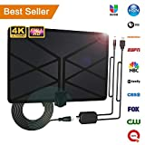 Best Amplified Digital Antennas - 2019 Newest TV Aerial, Indoor Amplified Digital HDTV Review