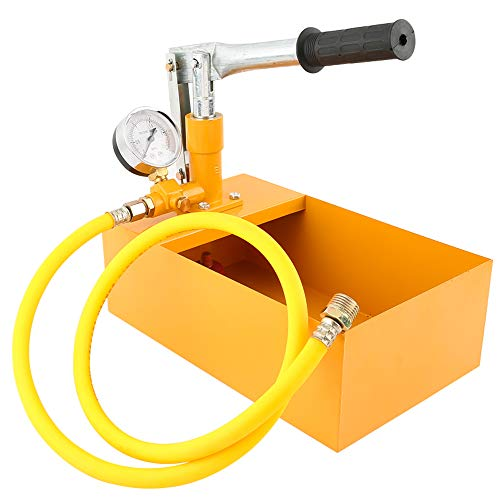 sazoley Aluminium 2,5 MPa 25 KG Wasserdruck Tester Manuelle Hydraulische Testpumpe Maschine mit G1 / 2