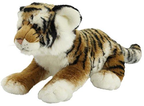 Tigerbaby Tiger ca. 47 cm Plüschtier Kuscheltier Stofftier Plüschtiger 91 von Zaloop®
