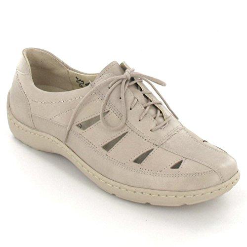 Waldläufer , Chaussures de ville à lacets pour femme Beige Beige Beige - beige/panna Wei