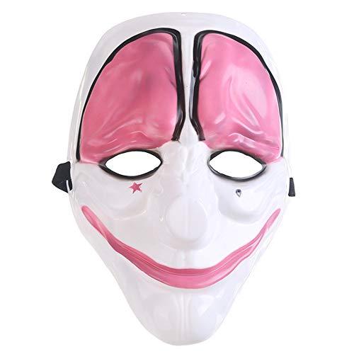 Lanking Halloween Maske, Zahltag 2 Thema Horror Cosplay Partei Für Fechten Streik Kostüm Requisiten Maske Dekoration ()
