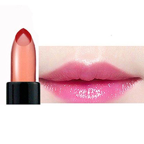 Lipgloss,Rabatt,PorLous 2019 Beliebt Wasserdichter Gelee Lippenstift Farbänderungs Lipgloss Feuchtigkeitscreme Make Up Werkzeug Feuchtigkeitsspendend 3