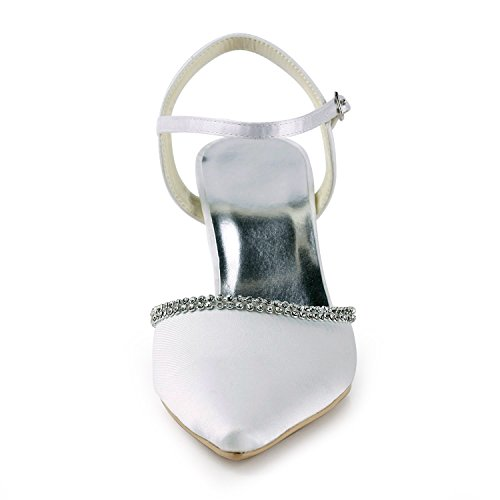 Tacco Centimetri Scarpe sette Minitoo Donne Per Le Bianco nAanzq0f