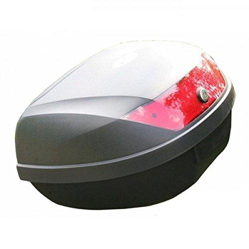 Wohnstyle24 Topcase Koffer 020 schwarz Hartschalenkoffer Aufbewahrung Gepäck Motorradkoffer Motorradtasche Top Case