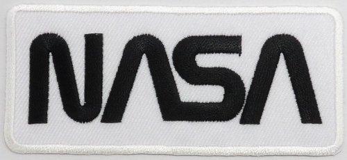 38-cm-x-99-cm-nasa-space-center-uniforme-blanco-y-negro-diy-bordado-sew-hierro-en-parche